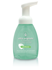 Ultra Originals - Foaming Hand Soap - Rainforest™ - 8 oz Filled Reusable Dispenser