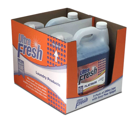 Club Pack of Ultra Fresh® Original Blue™ - Two 200oz Jugs