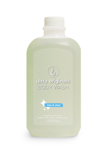 Ultra Originals - Body Wash - Fragrance Free Dye Free™ - 48 oz Refill