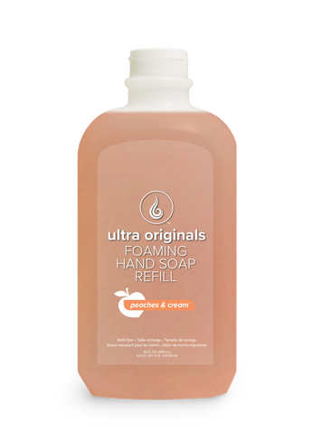 Ultra Originals - Foaming Hand Soap - Peaches & Cream ™ - 48 oz Refill
