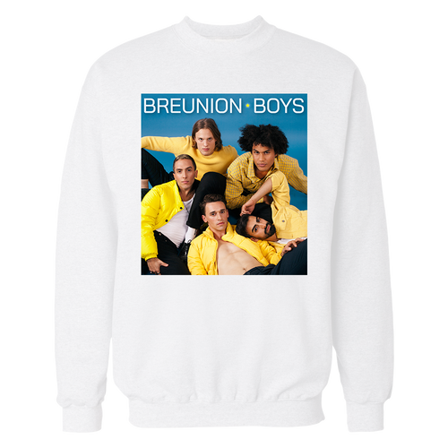 Breunion Boys group photo sweater