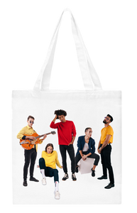 Breunion Boys band tote bag