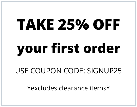 signup25 25% discount notice