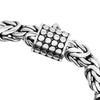 Sterling Silver 6mm Borobadur Chain with Barrel Clasp