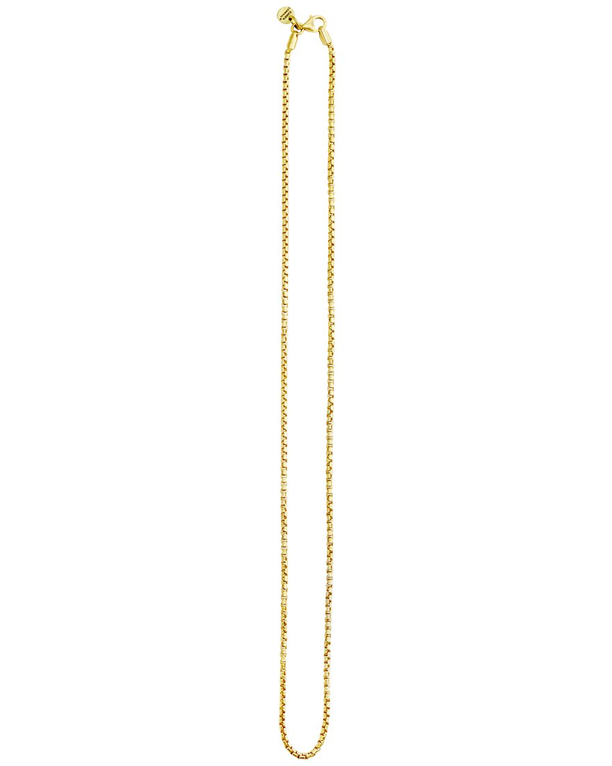 Dazzling Bermuda 18kt Gold Plated Box Chain