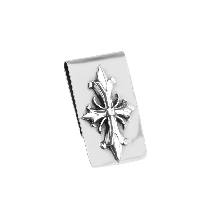 Dynamic Heavy Sterling Silver Money Clip