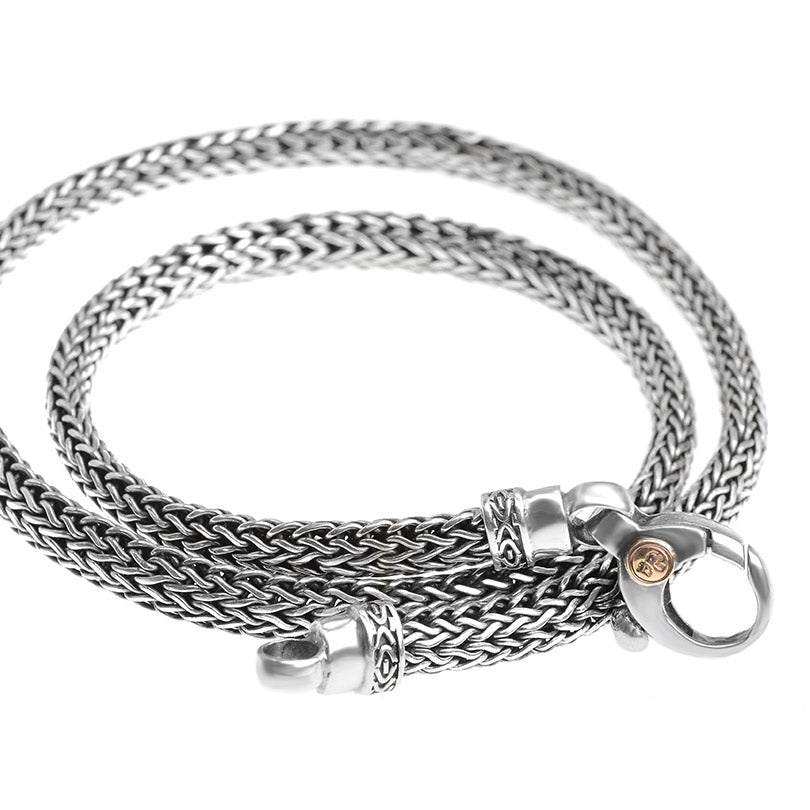 Sterling Silver deGruchy Bali Weave Chain