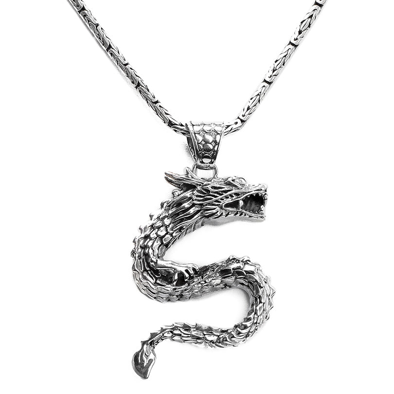 Our Signature Dragon Sterling Silver Pendant