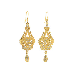 Victorian Majesty Crystal Earrings