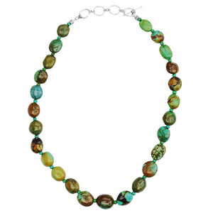 Geniune Turquoise Small Stones Necklace
