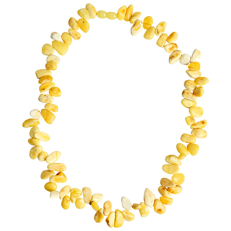 Gorgeous, Rich Butterscotch Baltic Amber Necklace.