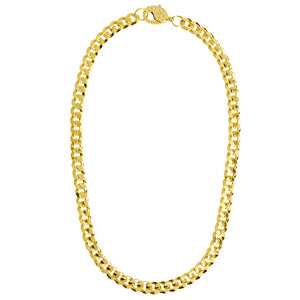 "Classic Gold Plated Curb Link Chain in various lengths 16""-35"""