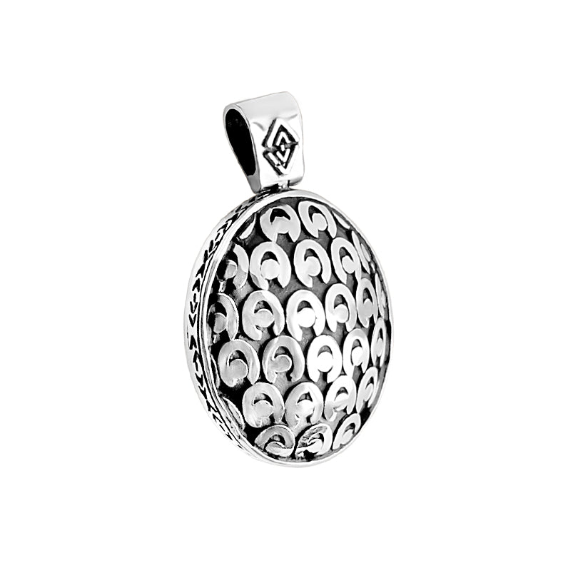 deGruchy Balinese Sterling Silver Pendant
