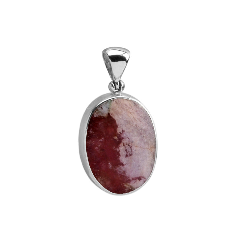Starborn Purple Tourmaline From Brazil Sterling Silver Pendant