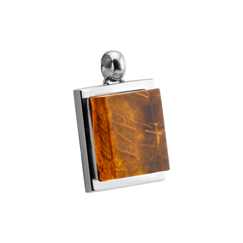 Gorgeous Polish Designer 3-Dimensional Baltic Cognac Amber Statement Pendant-one of a kind