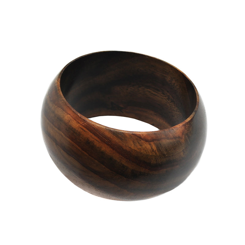 Hand Carved Rosewood Bangle