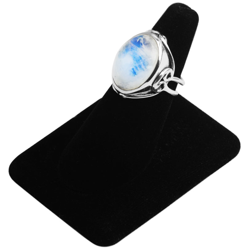 Majestic Moonstone Sterling Silver Ring