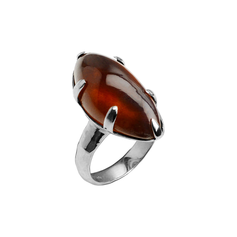 Starborn Cognac Baltic Amber Ring
