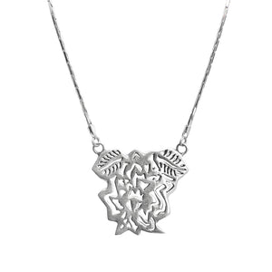 So Unique! DeGruchy Balinese Filigree Sterling Silver Necklace-one of a kind