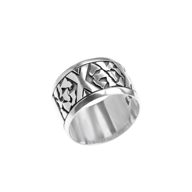 Classic Rodney deGruchy Sterling Silver Ring