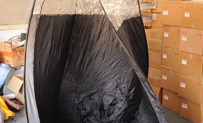 Popup Spray Tanning Tent Lopsided?