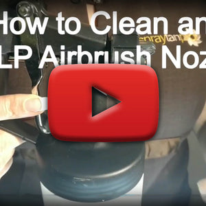 How to unblock an airbrush