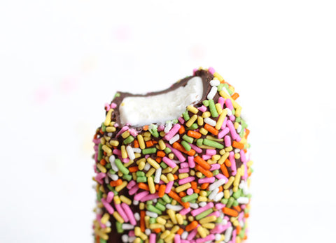 Sprinkle Covered Ice Cream Bars