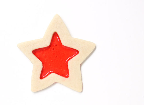 Stained Glass Star Cookie