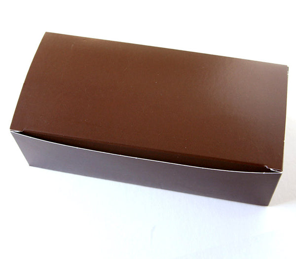 Chocolate Brown Candy Box