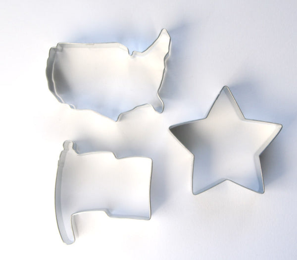 Patriotic Cookie Cutter Set