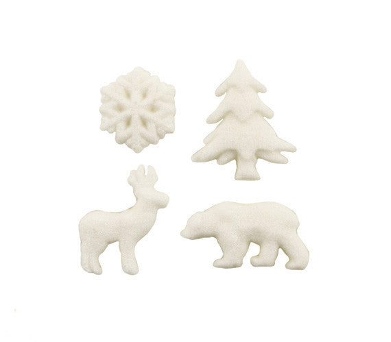 woodland sugar decorations