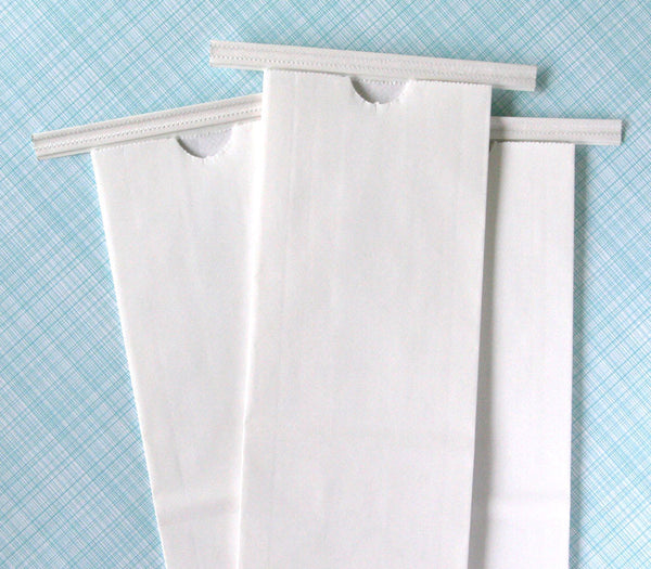 Small White Paper Bakery Bags