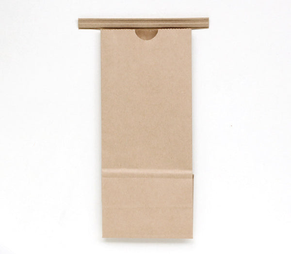 100 Tin Tie Bakery Bags - Small Kraft