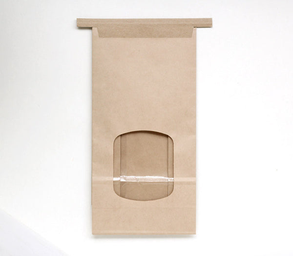 Large Tin Tie Bakery Bags - Kraft