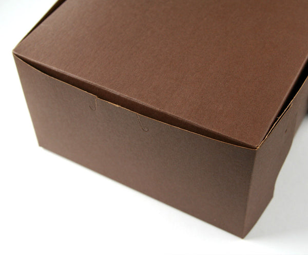Pastry Boxes / Bakery Boxes - Brown