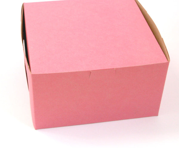 Pastry Boxes / Bakery Boxes - Pink