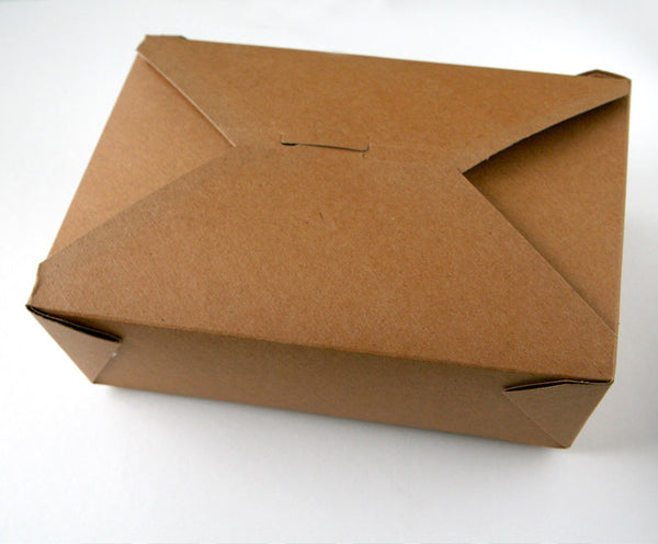 Large Take Out Box - Kraft
