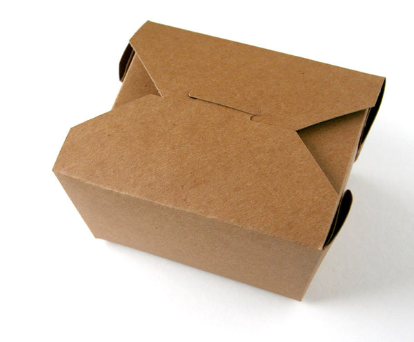 Kraft Take Out Boxes - Small - 50