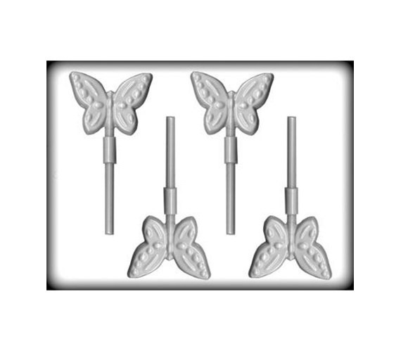 butterfly hard candy lollipop mold