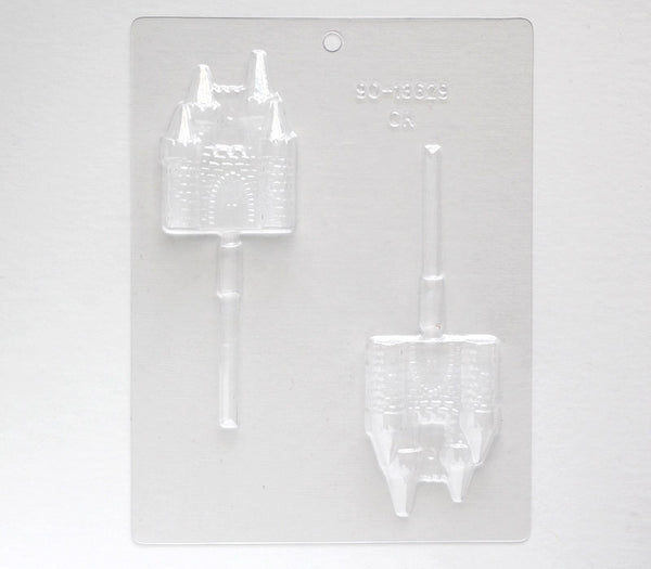 Castle Chocolate Mold