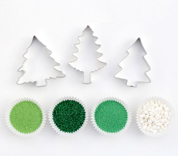 Pine Tree Cookie Decorating Kit