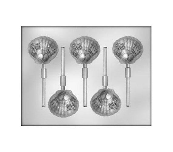 Seashell Chocolate Lollipop Mold