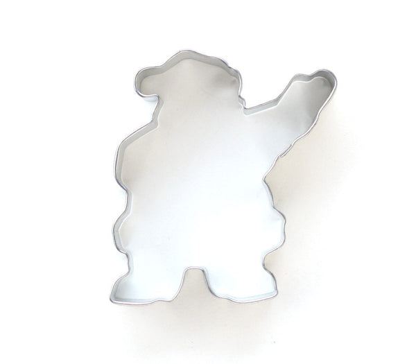 Waving Santa Cookie Cutter