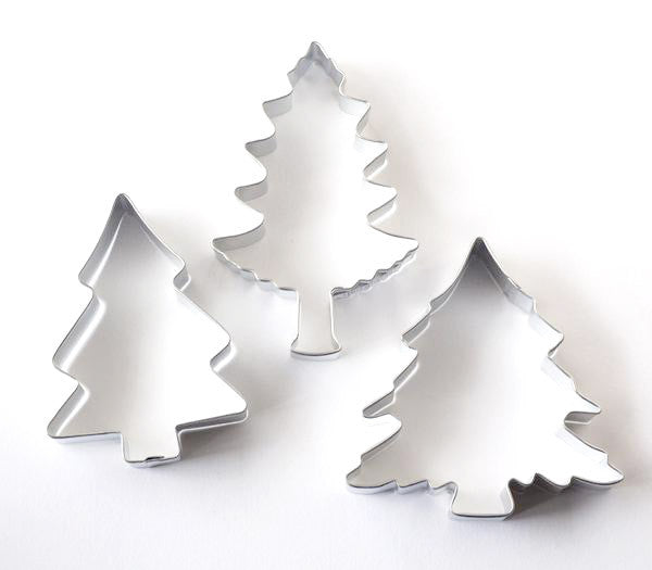 Pine Tree Cookie Cutter Set