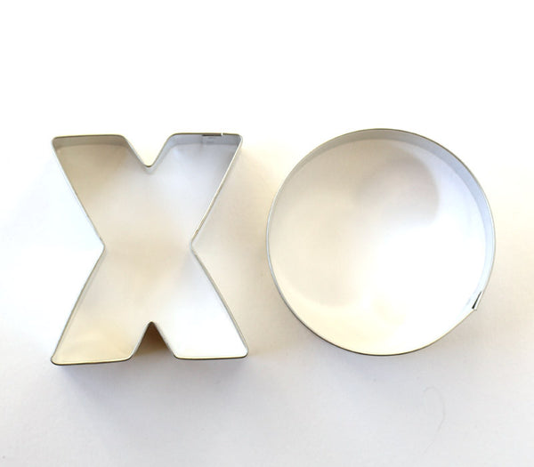X and O Valentine's Day Cookie Cutter Set