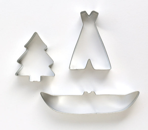 Camping Cookie Cutter Set