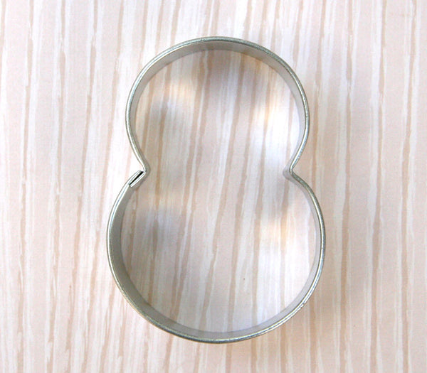 Number 8 Cookie Cutter