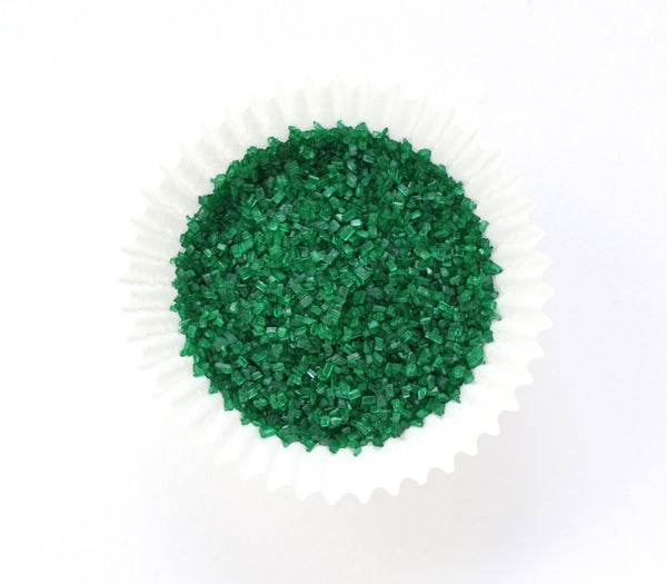 Green Crystal Sugar
