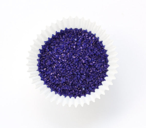 Purple Crystal Sugar