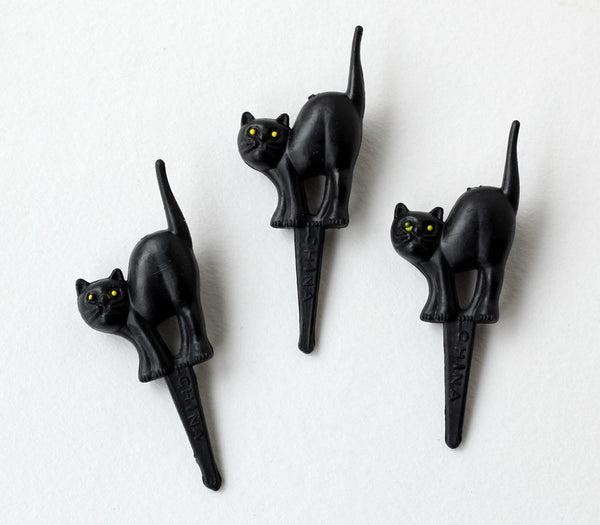 Black Cat Cupcake Picks